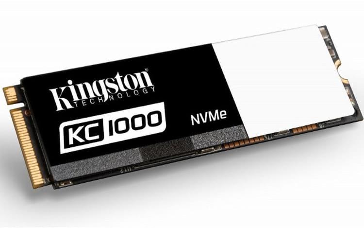 Kingston lanza el nuevo SSDNow KC1000 que promete ser 40 veces más rápido que el HD 1