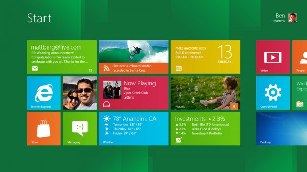 Microsoft demuestra Windows 8 Developer Preview