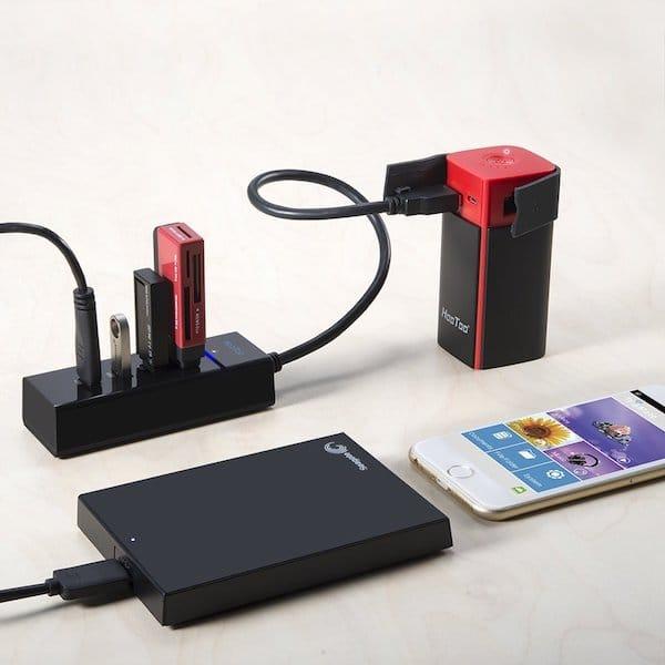 Conecte una llave USB a un iPhone / iPad / iPod 5