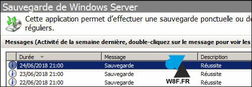 Restaurar un archivo con la herramienta Copia de seguridad de Windows Server 2