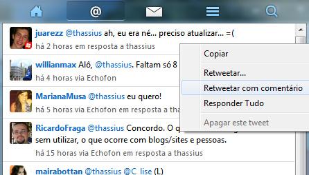 Echofon Beta: La aplicación Twitter llega a Windows 3