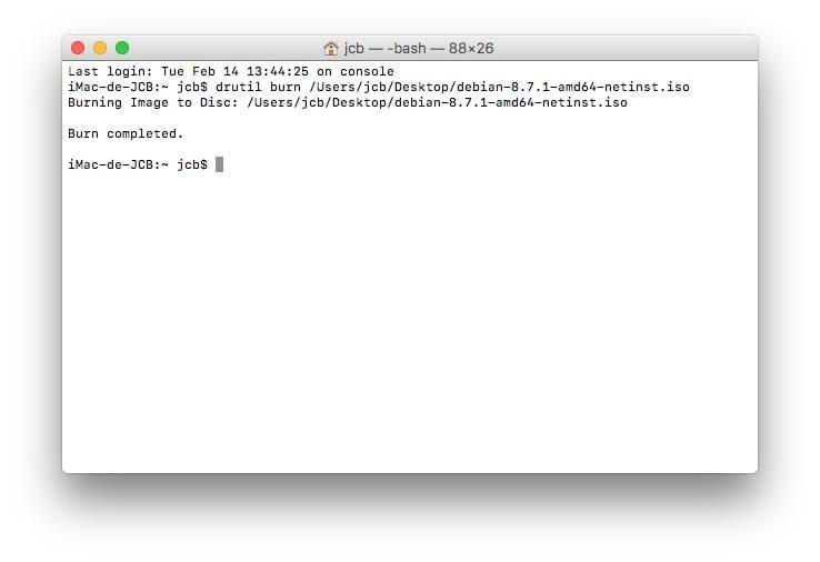 Quemar una ISO en Mac OS Sierra (10.12), El Capitán (10.11).... 5
