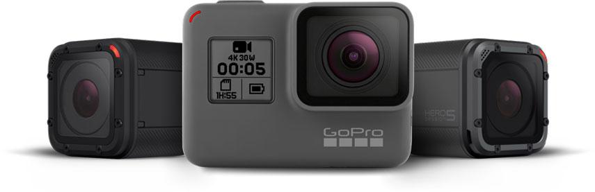 GoPro Hero 5 Black and Session: fecha de lanzamiento, precio y ficha técnica 1
