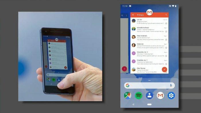 Android P gana gestos en la interfaz y características de inteligencia artificial 1