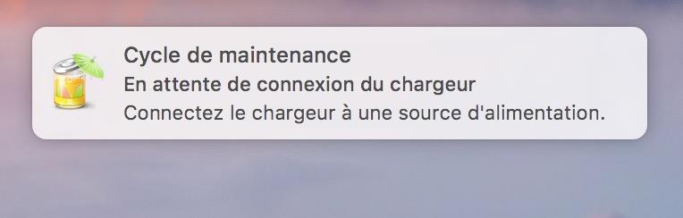 Mantenimiento de la batería del MacBook en macOS Sierra (10.12) 3