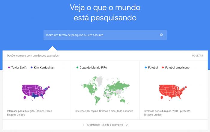 Las nuevas tendencias de Google Trends muestran las tendencias de búsqueda en tiempo real