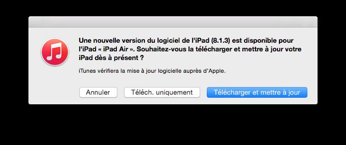 iOS 8.1.3 para iPhone, iPad, iPod: actualización 3