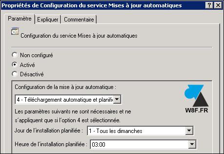 Enlazar estaciones de trabajo cliente con el servidor WSUS 4