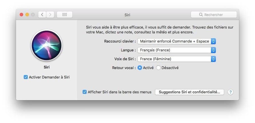 Cambia la voz de Siri en iPhone, Mac 6