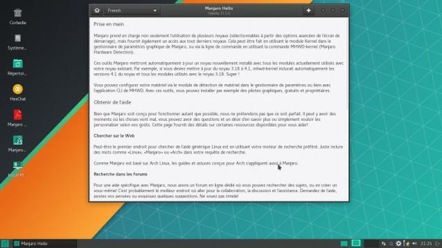 Otra actualización de Manjaro Linux - 17.1.0 2