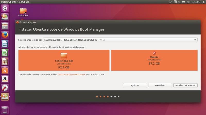 Cómo instalar Ubuntu Linux 16.04 LTS junto a Windows 10 UEFI GPT 11