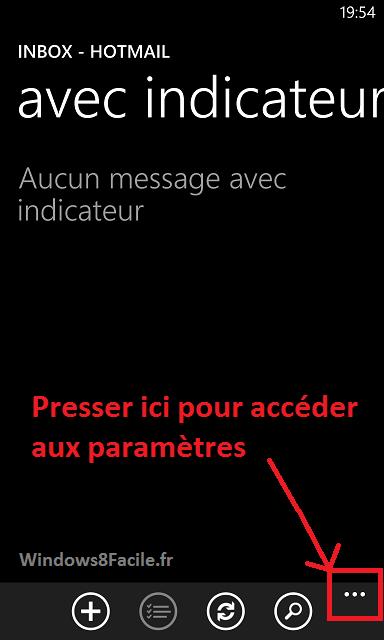 Windows Phone: desactivar la firma automática en los correos electrónicos 3