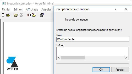 HyperTerminal en Windows 10 3