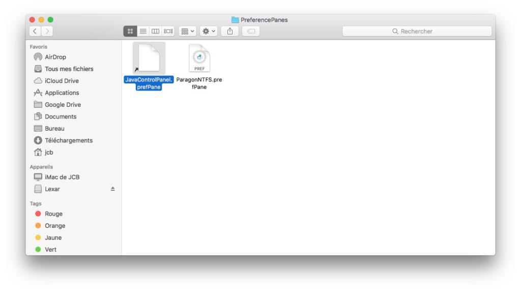 Eliminar una extensión de las Preferencias del Sistema Mac (Sierra, El Capitan...) 4