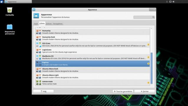 Cambiar el tema y los iconos en Xubuntu 25