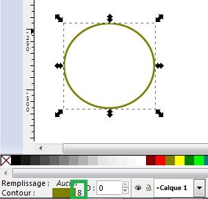 Cómo dibujar una pelota de Navidad con Inkscape 17