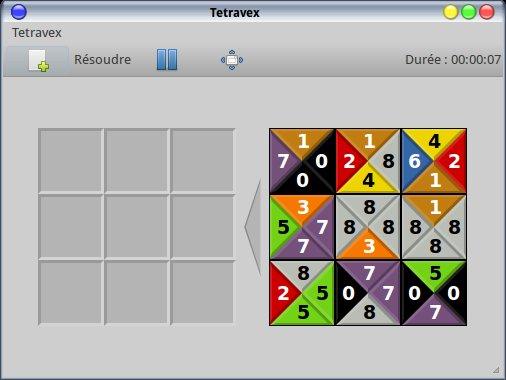 Juega Tetravex en Linux 1