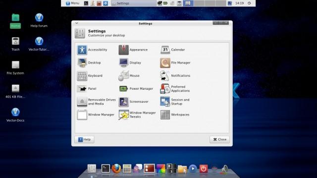 Vector Linux 7.0 en Live-CD 1