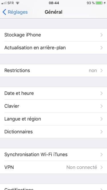 Gestiona el espacio de almacenamiento del iPhone / iPad / iPod (iOS 11) 1