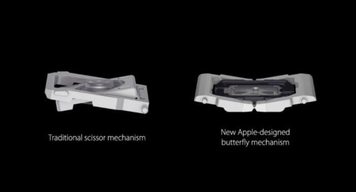 """Apple es procesado por el teclado del MacBook """"reinventado"""