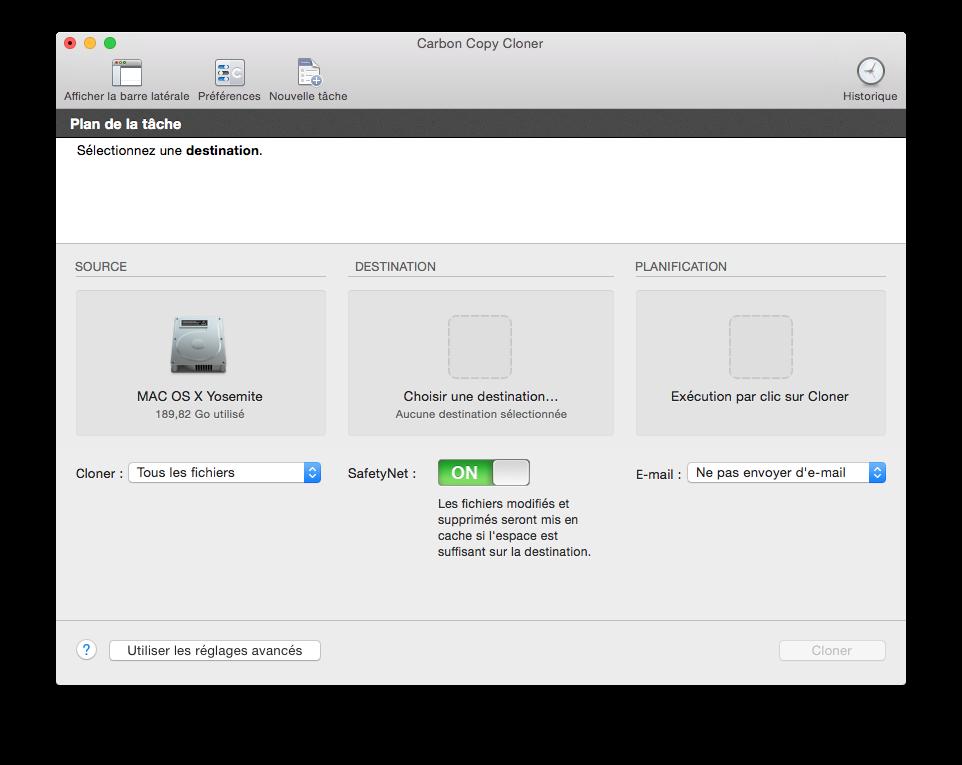 Cómo clonar Yosemite (Mac OS X 10.10) 1