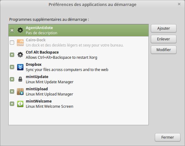 Aplicaciones Linux al inicio 3
