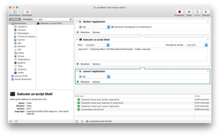 Acelerar Apple Mail (macOS Sierra, OS X El Capitan....)