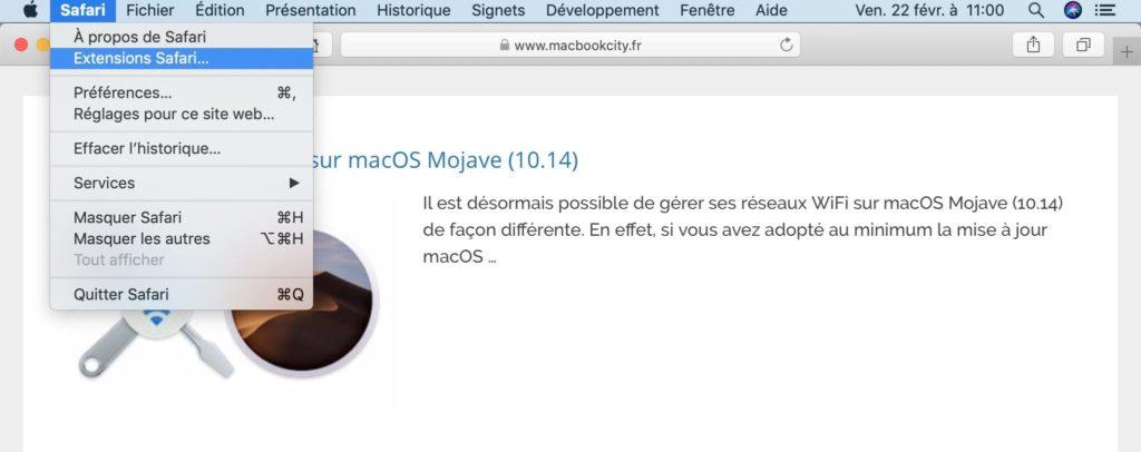Instalar una extensión de Safari en Mac (OS X / macOS) 1