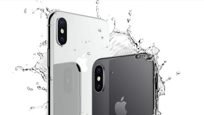 ¿Es el iPhone X resistente al agua?
