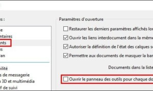Adobe Reader PDF: desactivar el panel lateral derecho
