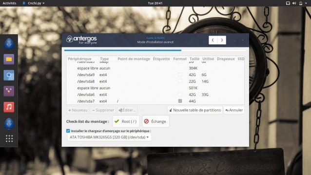 Instala Antergos 17.10 y elige tu entorno de escritorio 11
