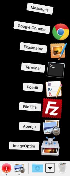 Ver artículos recientes en el Mac OS X El Capitan Dock (10.11)