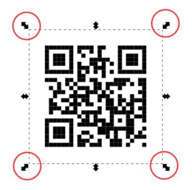Cree su propio código QR con Inkscape en Linux