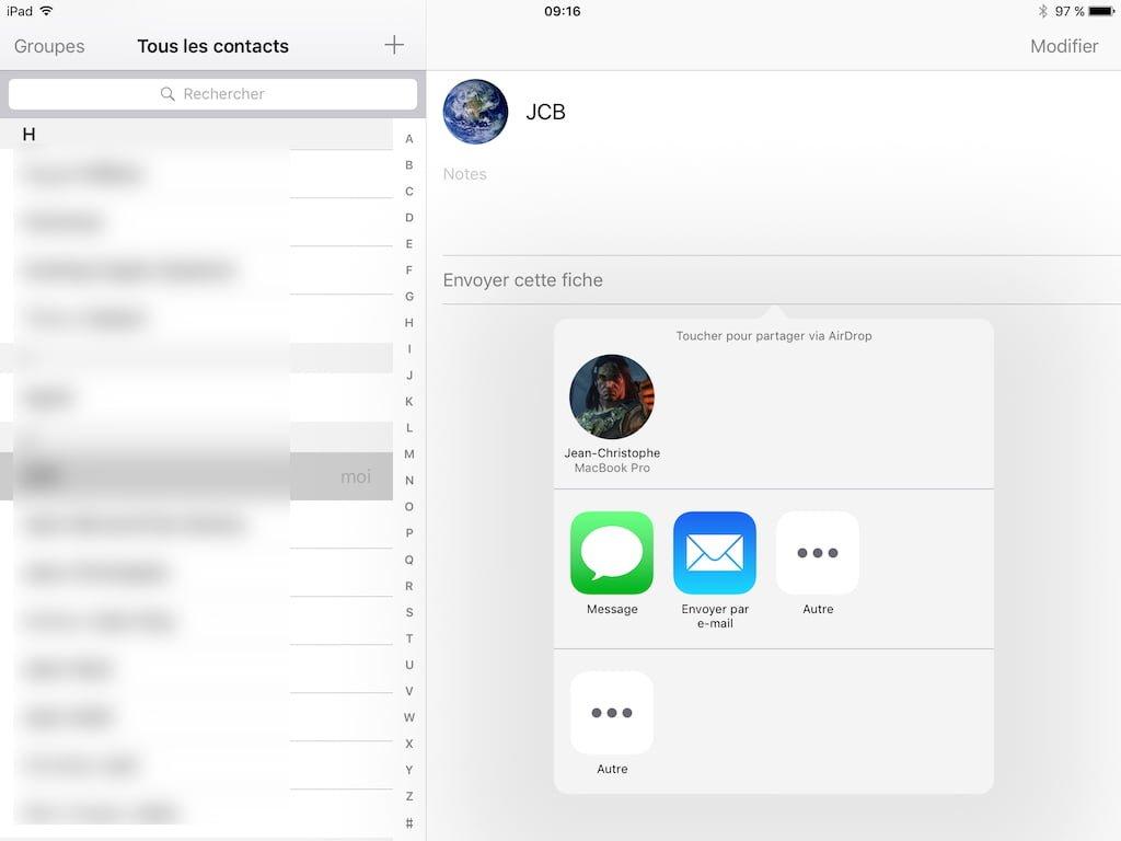 AirDrop Mac OS X / iOS : intercambio de contenido entre Mac e iPhone