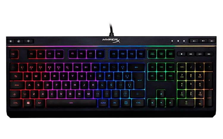 HyperX lanza su primer teclado estándar ABNT2