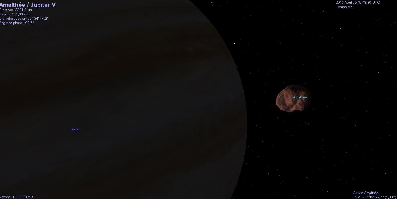 Celestia, mira los planetas un poco más de cerca.