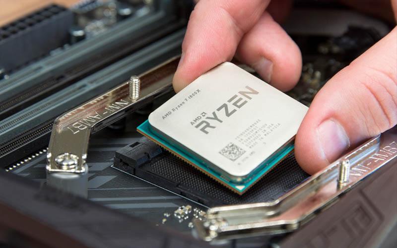 AMD Ryzen: un nuevo punto de referencia simula el 1400X con una brida de 1800X y es prometedor!