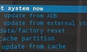 Restablecimiento de una tableta Android a cero