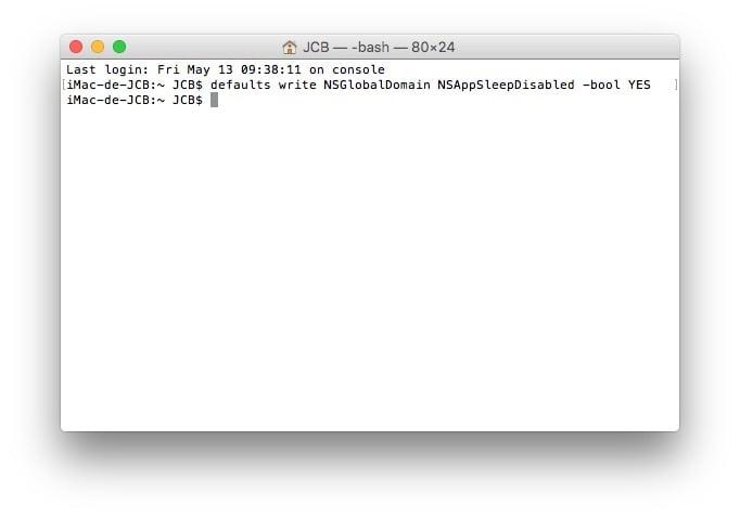 Desactivar App Nap en Mac para mejorar el rendimiento