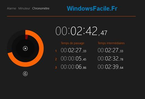 Windows 8.1 : Aplicaciones de alarma, temporizador y cronómetro