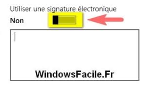 Windows 8: cambiar la firma de la aplicación Mail