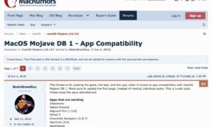 Lista de aplicaciones compatibles con MacOS Mojave (10.14)