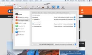 AutoPlay Safari: gestión de la reproducción automática de contenido en macOS High Sierra (10.13)