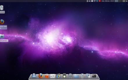 Xubuntu, reemplaza el muelle original por Avant Window Navigator.