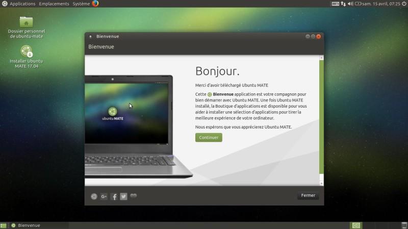Ubuntu Mate - Versión 17.04 - Descargar - Probar - Instalar 2
