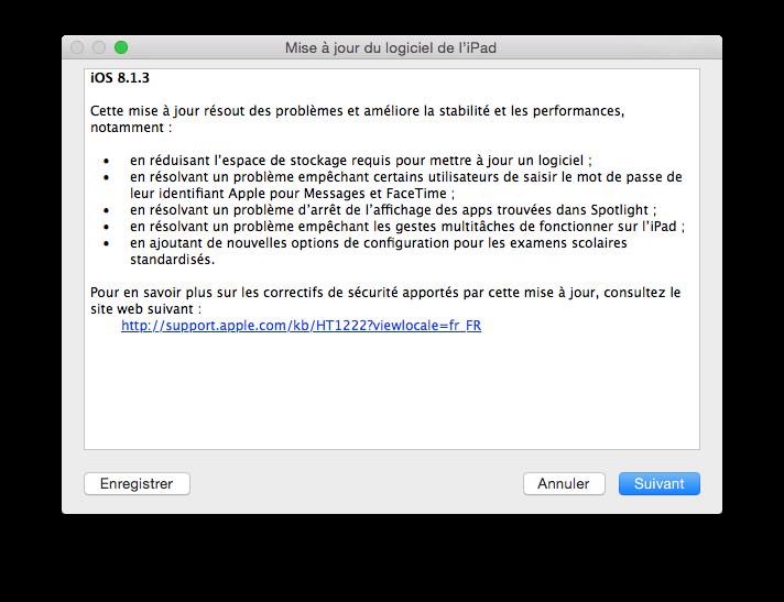 iOS 8.1.3 para iPhone, iPad, iPod: actualización 4