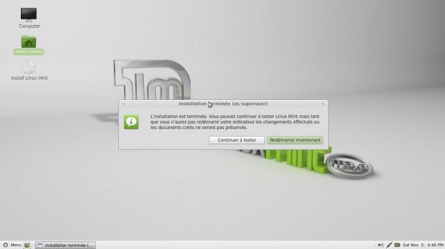 Linux Mint Mate, instalación en imágenes en un disco duro vacío 10