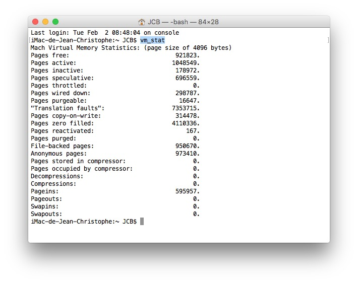 Purga el carnero de Mac OS X El Capitan (10.11) a Lion (10.7) 2