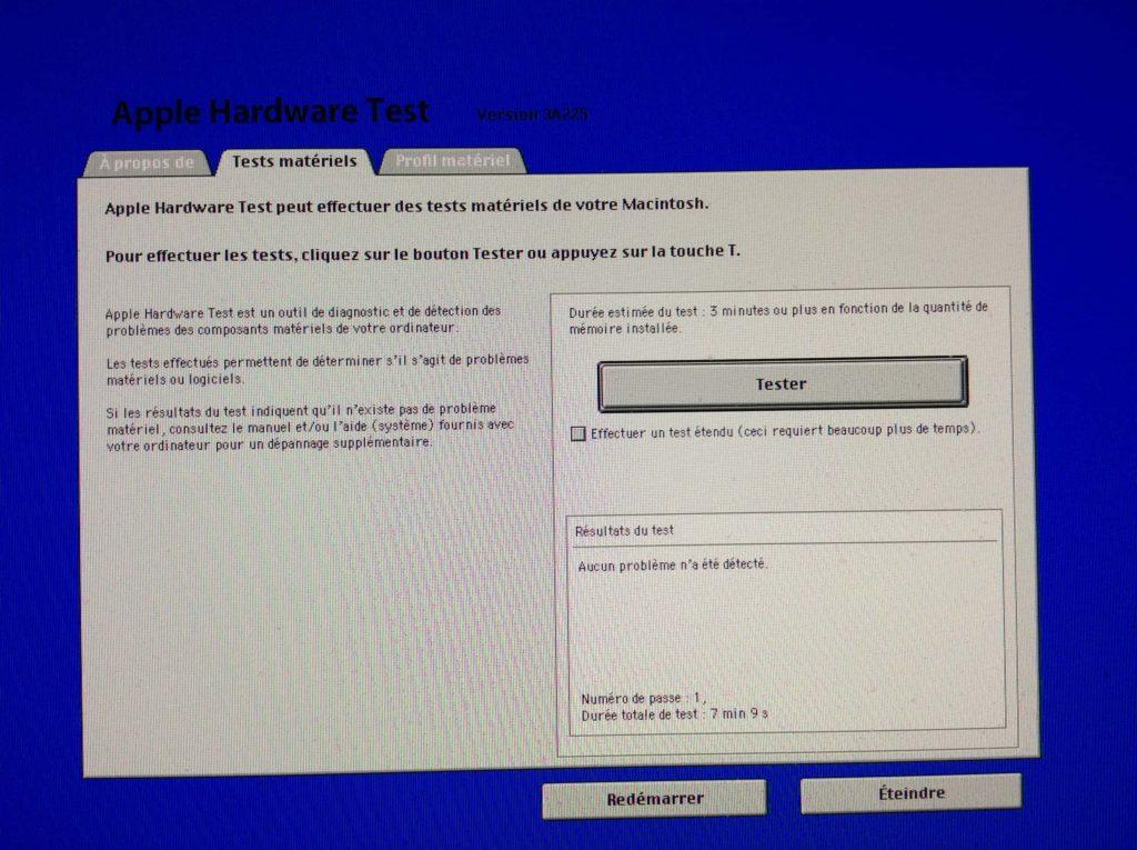 Prueba tu Mac con Apple Hardware Test / Apple Diagnostics 5