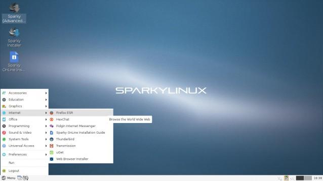 SparkyLinux 4 7 o 5 2 para ser probado y/o instalado